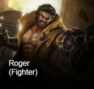 Asal Usul Munculnya Hero Fighter Roger di game Mobile Legends