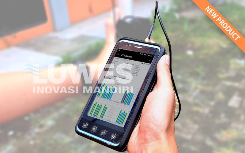 LUWES GNSS Geodetik Receiver RTK Smartphone