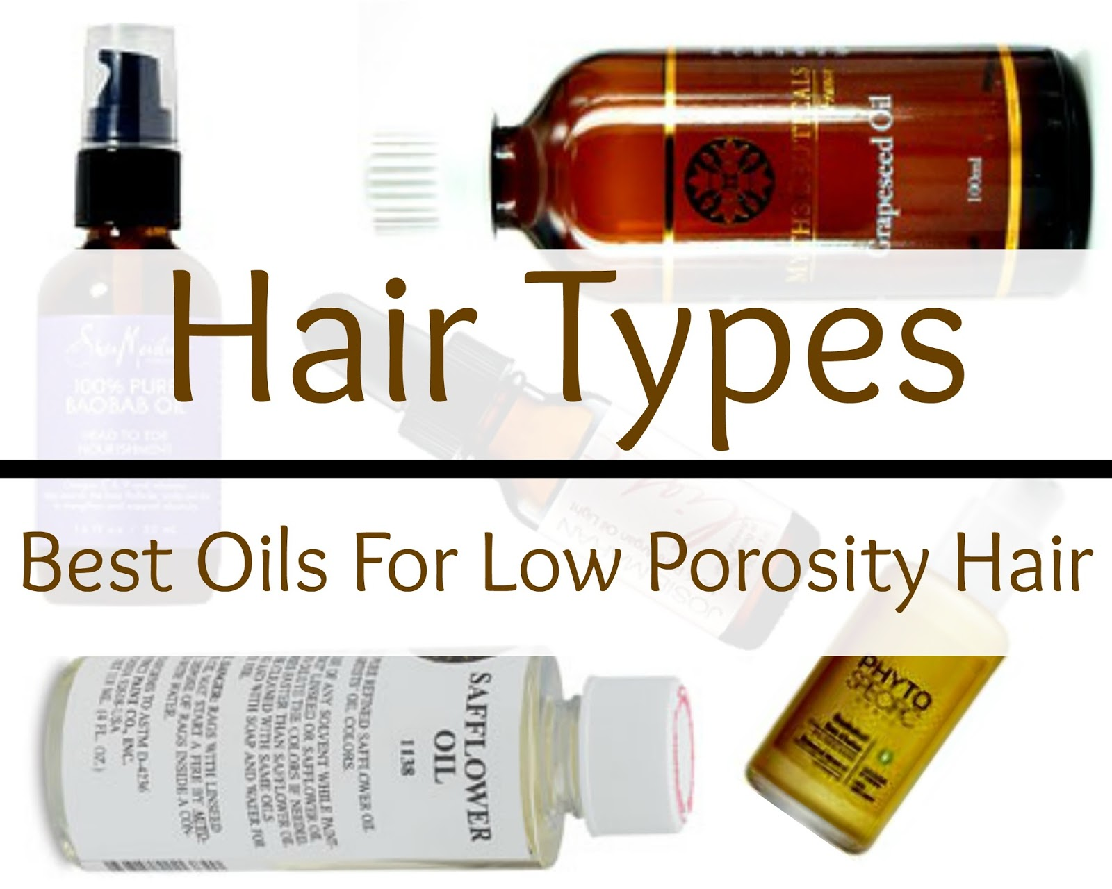 Learn what low porosity hair is, what oils are best and why certain products work best for this hair type. Hair Porosity is important Naturals!