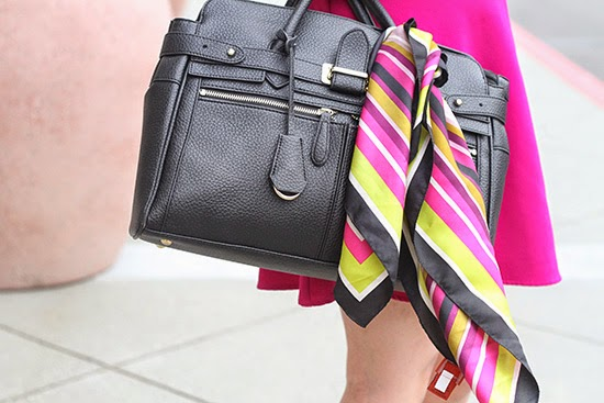 Black Bag and Missoni for Target Striped Scarf | Will Bake for Shoes