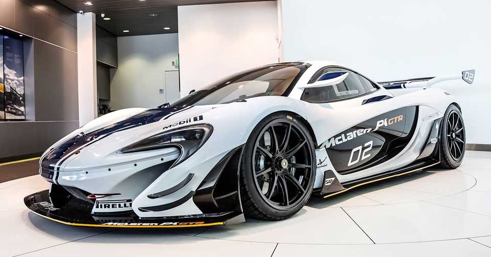 Mclaren P1 Gtr Logo >> McLaren P1 GTR Listed For Sale In Southern California