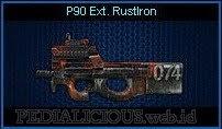 P90 Ext. RustIron