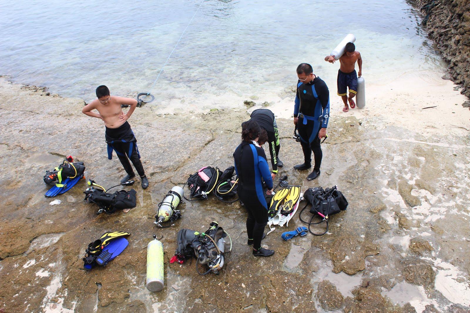 Panagsama Beach Moalboal Divers