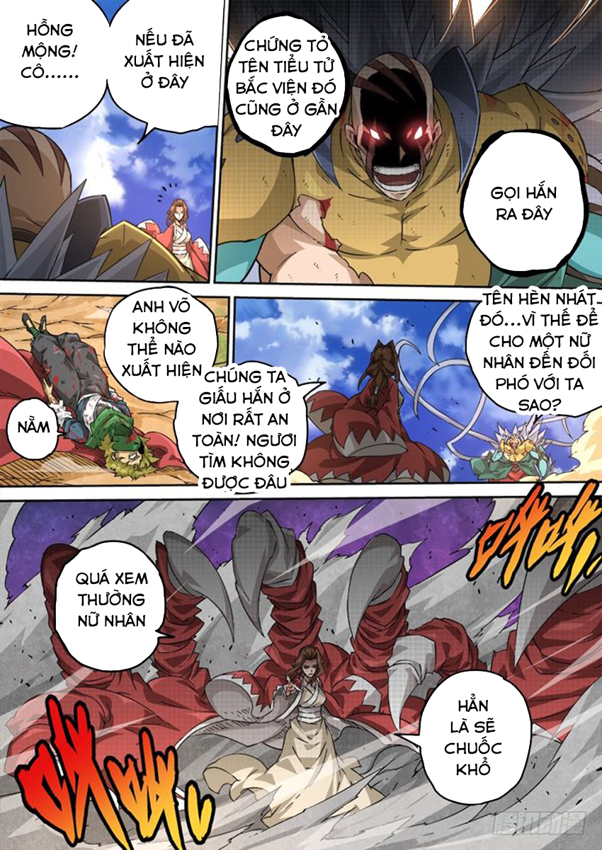 Quyền Bá Thiên Hạ - Chap 229