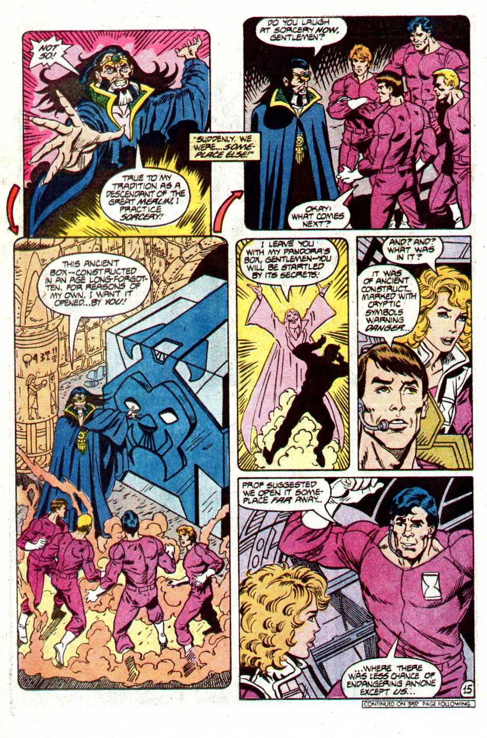 Read online Secret Origins (1986) comic -  Issue #12 - 33