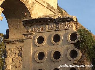 sepultura padeira roma guia brasileira - Sepultura do padeiro Eurisace