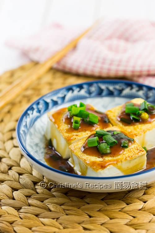 Pan-Fried Tofu in Teriyaki Sauce01