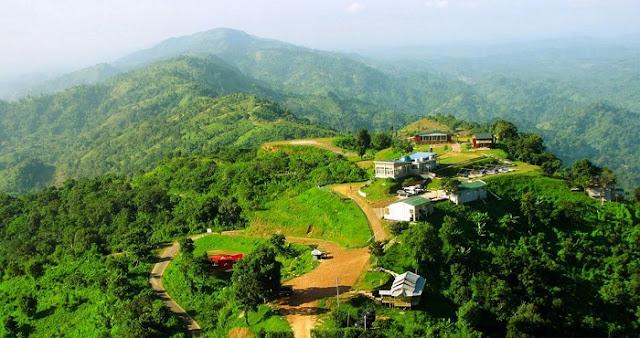 Bandarban - attractive natural tourist place in Bangladesh
