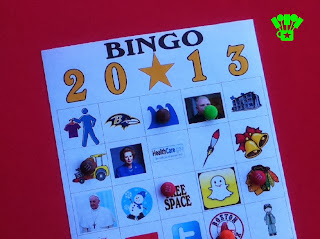 2013 Free Bingo Game Printable