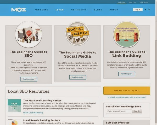 SEO-Moz-a-blog-website-to-learn-seo