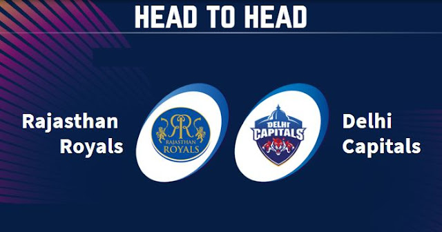 RR vs DC Head to Head: DC vs RR Head to Head IPL Records: IPL 2019