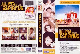 Carátula DVD 1 - Julieta de los espíritus