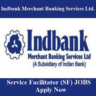 Indbank Merchant Banking Services Limited, Indbank, Bank, TN, Tamil Nadu, 10th, Service Facilitator, freejobalert, Sarkari Naukri, Latest Jobs, indbank logo