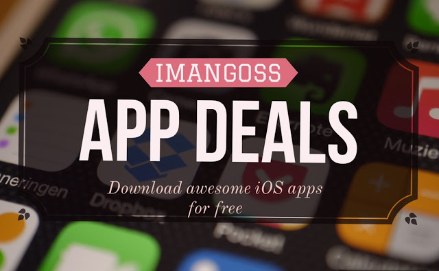 we bring you a daily app deals for you to download these awesome paid iOS apps for iPhone/iPad for free for limited time because we don't know when their price could go up in the App Store