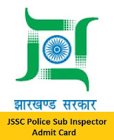 JSSC Police Sub Inspector Admit Card