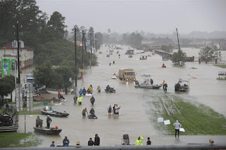 Από το Τέξας, ο τυφώνας έφθασε στη γειτονική πολιτεία της Λουιζιάνα