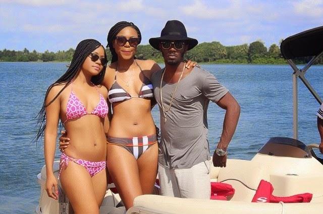 Yvonne Nelson Flaunts Bikini Body During Birthday Beach ...