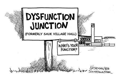 Sauk Village, Illinois: SAUK VILLAGE FINANCIAL MESS