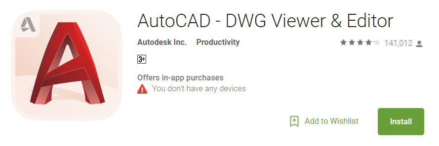 AutoCAD untuk Android