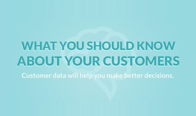 Image: What You Should Know About Your Customers #infographic