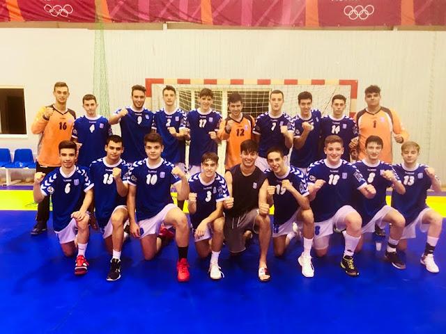 Πρωτιά για την Εθνική Ελλάδος - Χρυσό μετάλλιο στην κατηγορία των Παίδων στo Danaon Cup