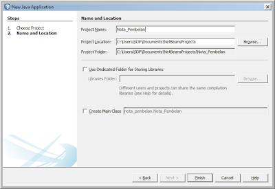 Kelas Informatika - Membuat Projek Java Netbeans Nota Pembelian