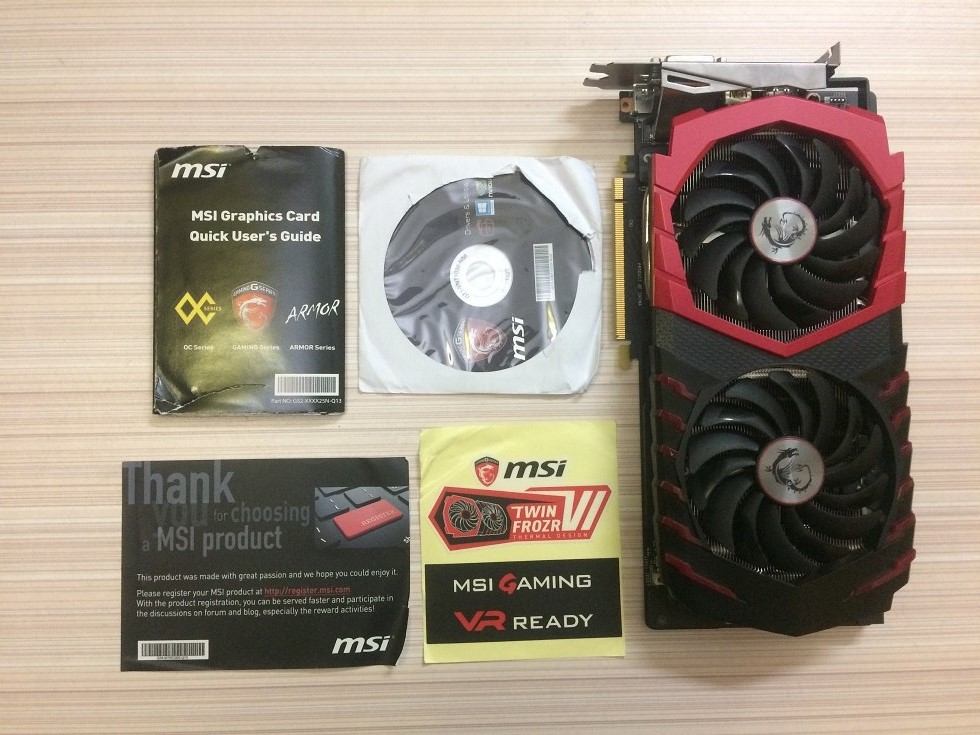 MSI GTX 1060 Gaming X 6G Review ~ Computers and More   Reviews