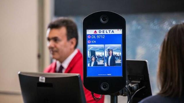 La primera terminal biométrica que Delta Airlines inauguró en Atlanta