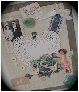 Make a Memory Card for a gift or memorial-preserve memories!