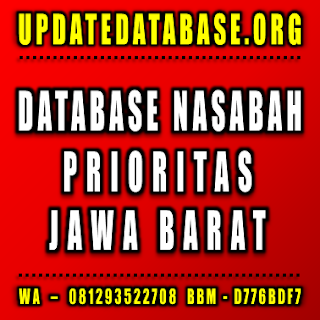 Jual Database Nasabah Jawa Barat
