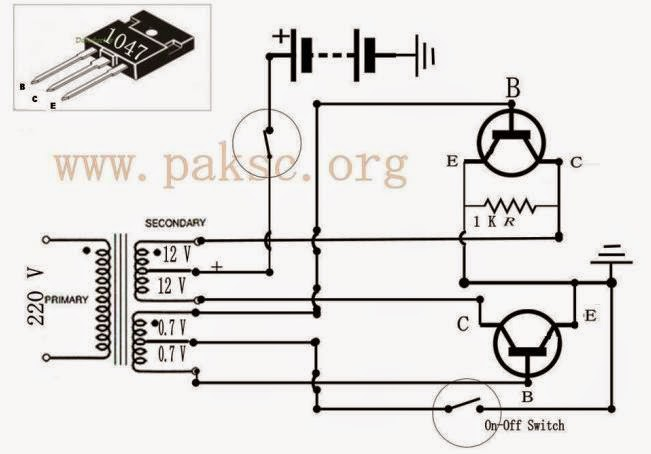 240v to 12v transformer wiring diagram