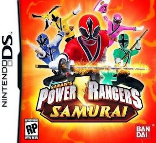 Power Rangers: Samurai, NDS, Español, Mega, Mediafire