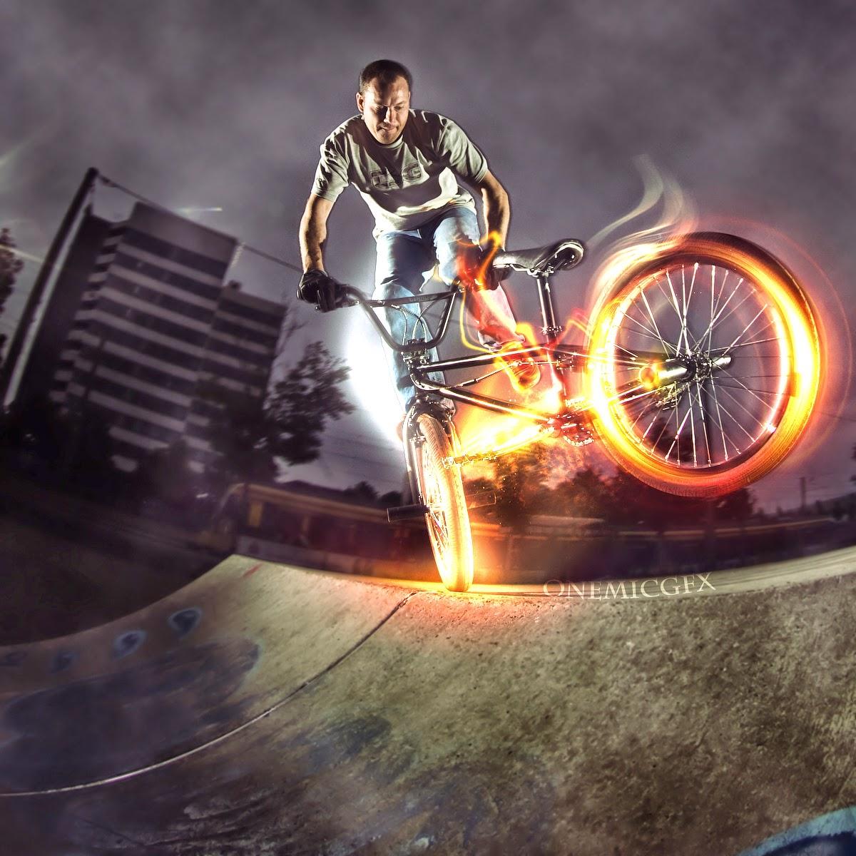 wallpaper sepeda BMX keren ajibbb | sepeda Balap