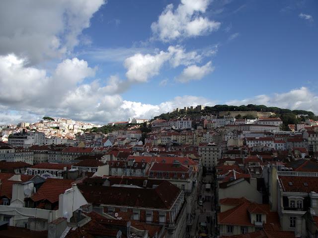 Vistas de Lisboa, Castillo San Jorge