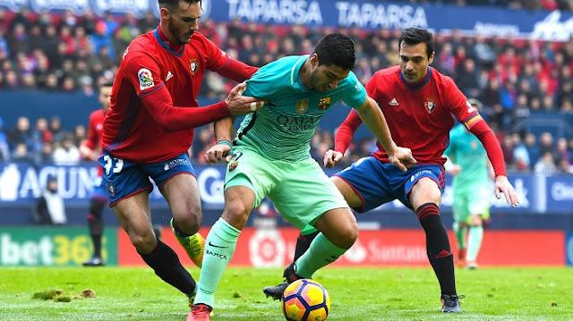 Barcelona vs Osasuna en vivo