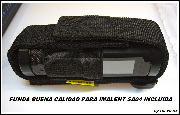 Review Imalent SA04 Holster