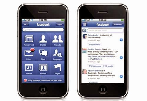 Facebook cho iphone
