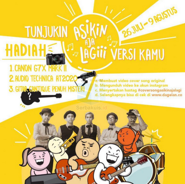 Cover Song Lagu Asikin Aja
