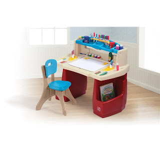 Closed Step2 Deluxe Art Master Desk Giveaway Worldwide