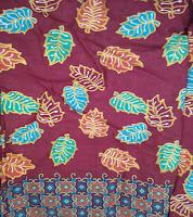 Kain Batik Prima 0436 Maroon