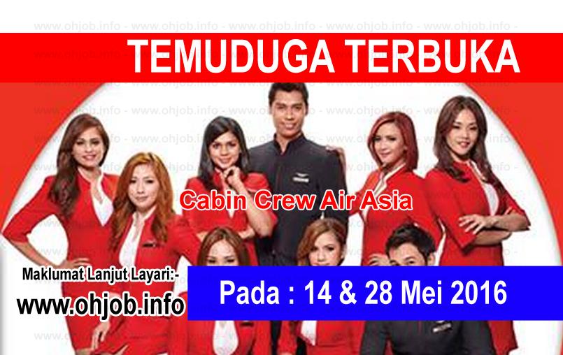Jawatan Kerja Kosong AirAsia Berhad logo www.ohjob.info mei 2016