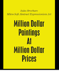 Sales Brochure - Million Dollar Mitro Paintings