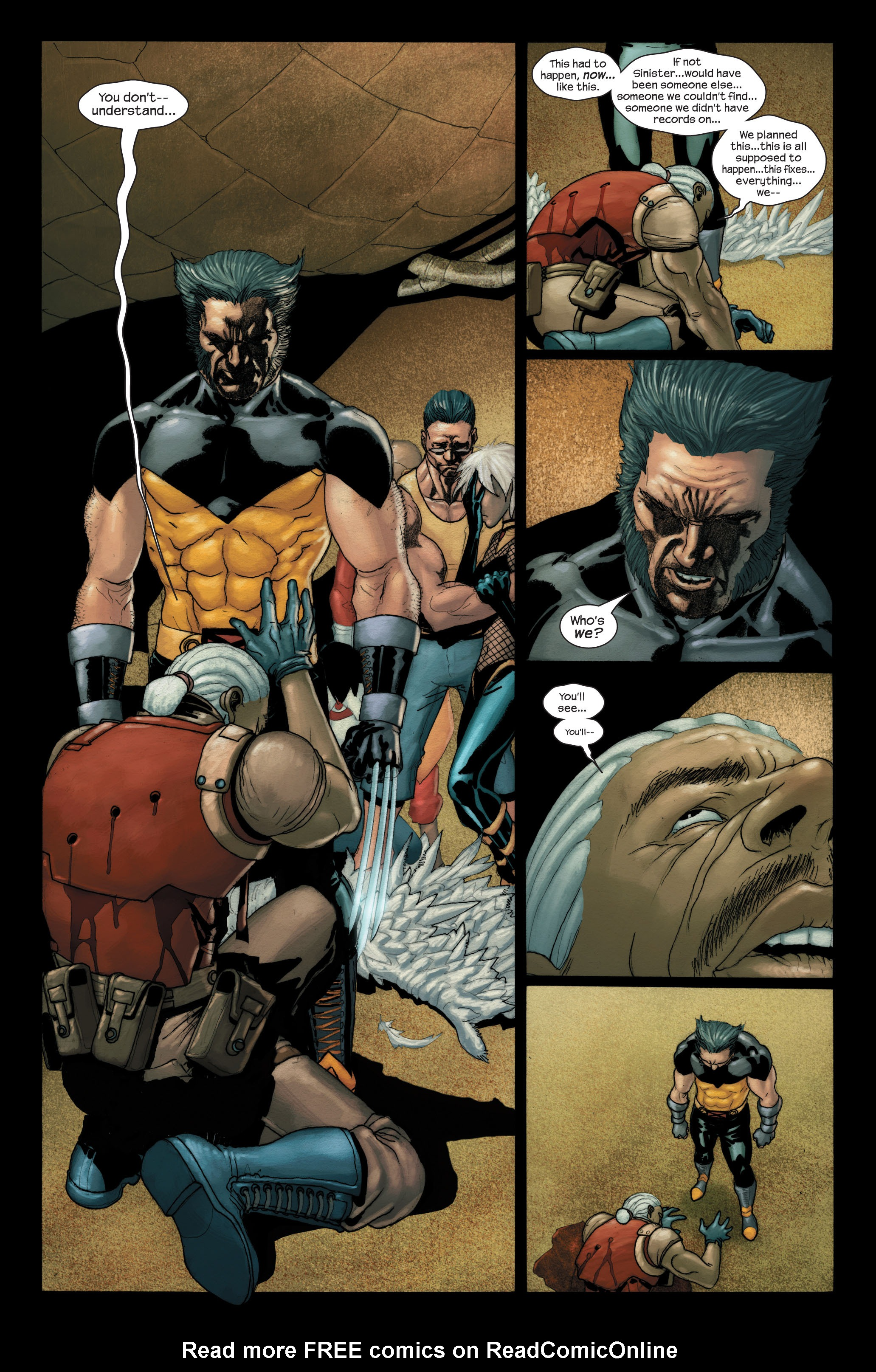 Read online Ultimate X-Men comic -  Issue #90 - 19
