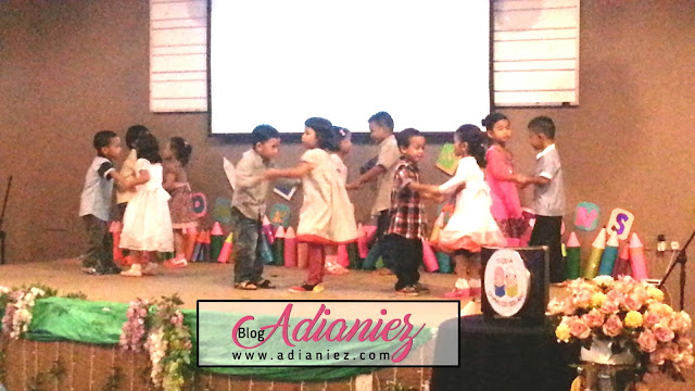 Majlis Graduasi Tadika Damai Cemerlang - Izzat