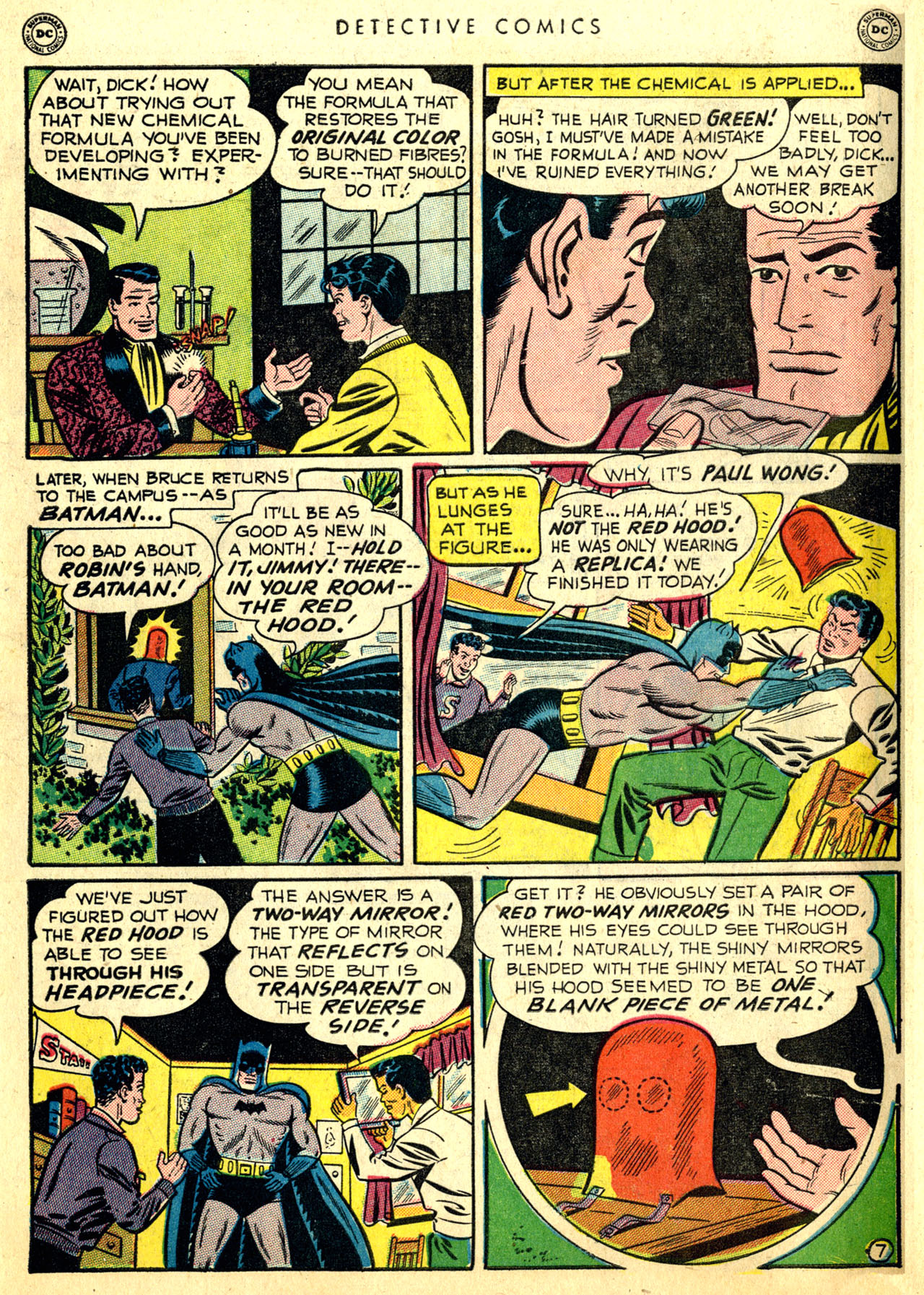 Read online Detective Comics (1937) comic -  Issue #168 - 9