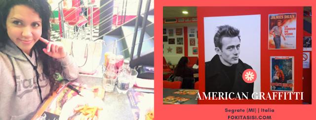 (Imagen) En Segrate (Provincia de Milano), Italia existe un local original al estilo año 60s' llamado American Graffitti donde puedes elegir entre una amplia gama similar a un estilo de fast food americano