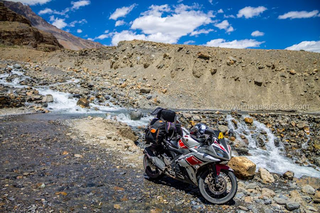 water crossing spiti
