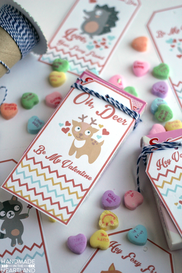 cute tags for valentine's day