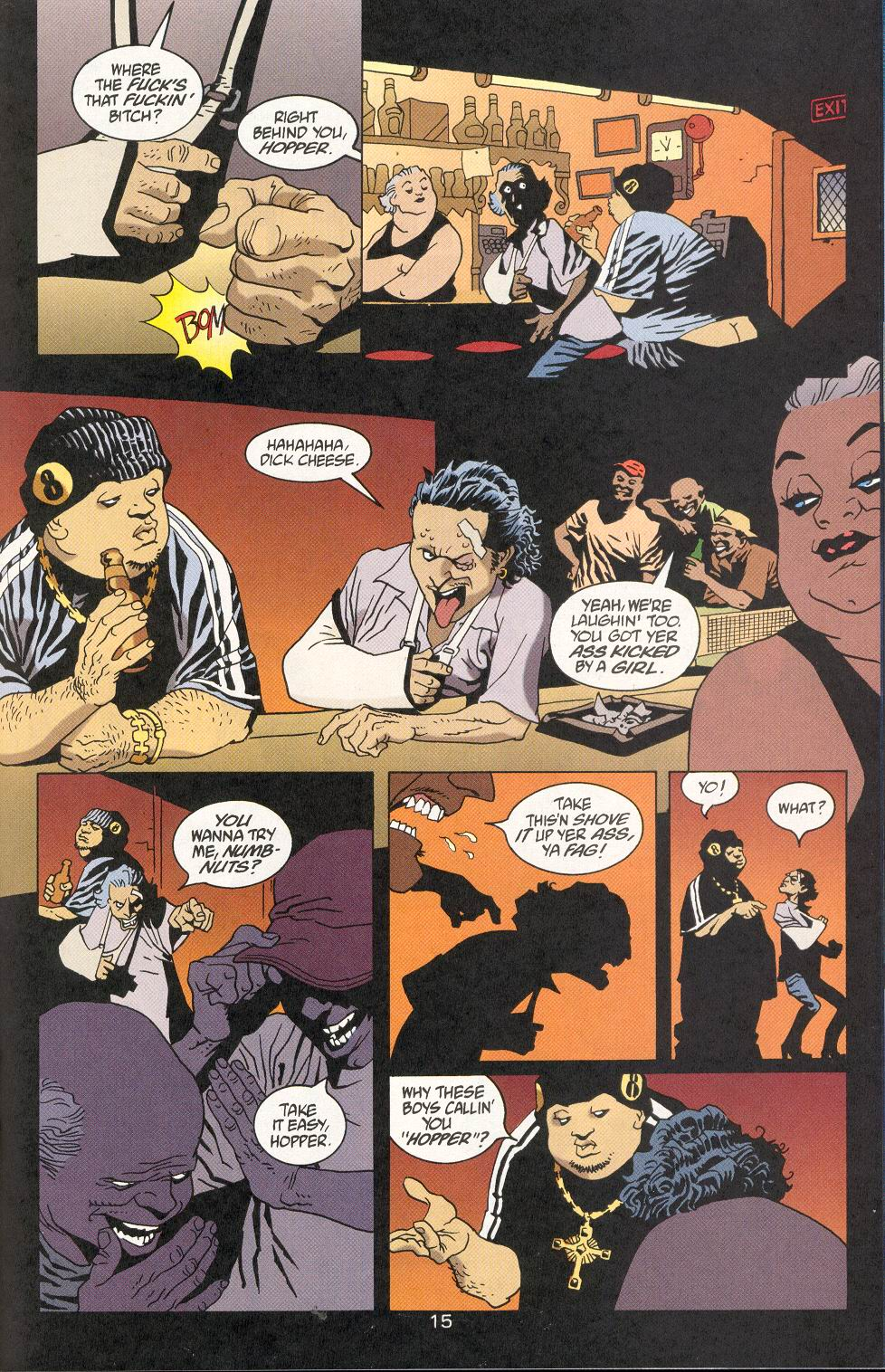 Read online 100 Bullets comic -  Issue #29 - 16