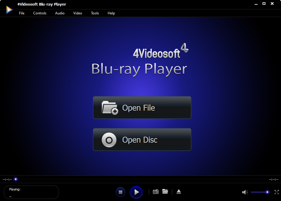 4Videosoft Blu-ray Player